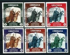 Cirenaica (Italiana) Nº 92/7 Usado Cat.70€ - Cirenaica