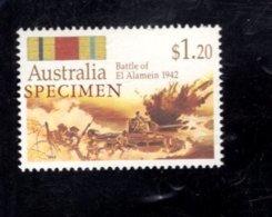 835851184 1992 SCOTT 1257 POSTFRIS MINT NEVER HINGED EINWANDFREI (XX)  SPECIMEN AUSTRALIAN BATTLES - Neufs