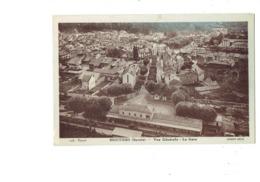 Cpa - 73 - Moutiers - Vue Générale - La Gare - Hotel - Fromages En Gros - Cim Coll. Basset - Moutiers