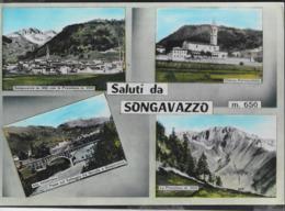 SALUTI DA SONGAVAZZO -VIAGGIATA 1965 DA SONGAVAZZO/BERGAMO ( ANNULLO CONALBI) - Saluti Da.../ Gruss Aus...