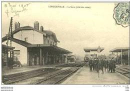 77 LONGUEVILLE   ...  La Gare Animee - France