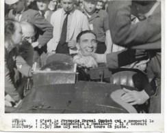 Bol D'Or Automobile à Montlhéry  Marcel Contet  1939 Avec Réserves  Au Dos Cachet HAVAS  18x13 Cm - Sports