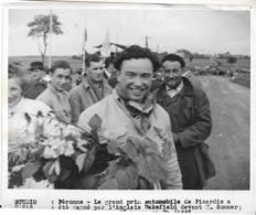 Grand Prix Automobile De Picardie  WAKEKIELD  1939 Avec Réserves  Au Dos Cachet HAVAS  18x13 Cm - Sports