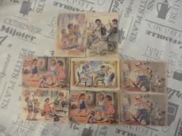 LOT  DE  8  CARTES  POSTALES   DE  GERMAINE   BOURET - Ansichtskarten