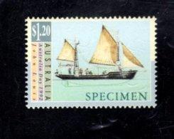 835870831 1992 SCOTT 1252 POSTFRIS MINT NEVER HINGED EINWANDFREI (XX)  SPECIMEN SAILING SHIPS - Neufs