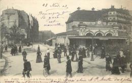 PARIS - La Gare De La Porte Maillot. - Pariser Métro, Bahnhöfe