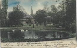 Malines.   -    Jardin Botanique.   -   La Pièce D'eau  -   Kiosque Et Châlet.   -   1907   Naar   Bertrix - Malines