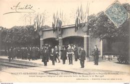 10-NOGENT SUR SEINE-ARRIVEE DES MINISTRES-N°R2040-G/0021 - Nogent-sur-Seine
