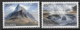 Islande 1989 N° 657/658 Neufs Paysages - Nuovi