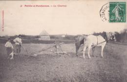 CPA PERCHE ET PERCHERONS LA CHARRUE - Attelages