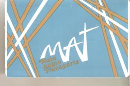 TITRE DE TRANSPORTS MALO AGGLO  RECHARGEABLE - Tram