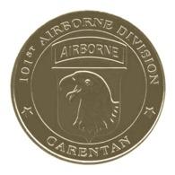 Monnaie De Paris , 2014 , Saint Come Du Mont , Carentan , 101 St Airborne Division - Monnaie De Paris