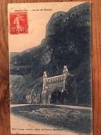 CPA, BOUILLON, Sortie Du Tunnel, édition L. Deville, Bouillon, écrite En 1912 - Bouillon
