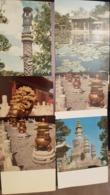 Peking / Beijing -  - 9 PCs Lot - CHINA Postcard   - Old PC 1950s - Cina