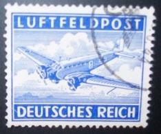 N°263E TIMBRE DEUTSCHES REICH OBLITERE - Luftpost