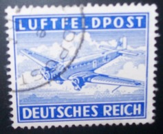 N°264E TIMBRE DEUTSCHES REICH OBLITERE - Luftpost