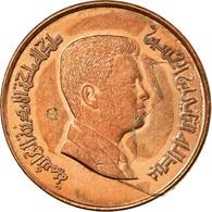 Monnaie, Jordan, Abdullah II, Qirsh, Piastre, 2000/AH1421, TTB, Copper Plated - Jordanie