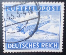 N°265E TIMBRE DEUTSCHES REICH OBLITERE - Luftpost