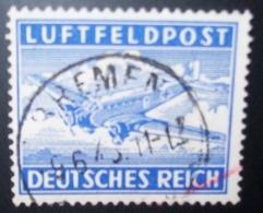 N°267E TIMBRE DEUTSCHES REICH OBLITERE - Luchtpost