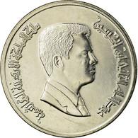 Monnaie, Jordan, Abdullah II, 5 Piastres, 1999/AH1420, TTB, Nickel Plated Steel - Jordanie
