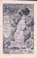 Genève, 33e Exposition D'Horticulture, Cachet Exposition, Femme Et Armoirie (7.9.05) Pli D'angle - GE Geneva