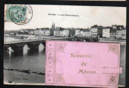 71, Carte A Systeme 5 Vues De Macon - Macon