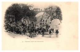 Chasseurs Alpins Aux Manoeuvres - Manovre
