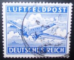 N°268E TIMBRE DEUTSCHES REICH OBLITERE - Luftpost