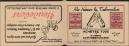 Carnet Timbre Antituberculeux Pr Vaince Tuberculose Timbre Vivre Pub Heudebert Redoute Gibbs 20 Vignettes 1928 1929 - Other