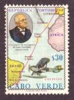 Cabo Verde / Cap Vert - 1969 1° Cent Nascimento Do Almirante Gago Coutinho - Cap Vert