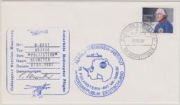 Germany 1987 Heliflight From Polarstern To Georg Von Neumayer Statiion 07.01.1987 Si Pilot  (44684) - Briefmarken