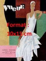 Reproduction D'une Photographie Ancienne D'une Affiche Vogue De 1929 - Riproduzioni