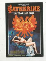 Cp, Affiche , CATHERINE , LA TSARINE NUE ,René Chateau ,  Vierge - Manifesti Su Carta