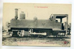 LES LOCOMOTIVES  9- Locomotive Tender Mines D'ANICHE   6 Roues Accouplées         /D16-2017 - Chemins De Fer
