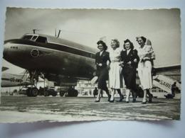 Avion / Airplane / SABENA  / Convair CV 240 / Air Hostess - 1946-....: Modern Tijdperk