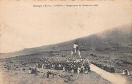 Ainhoa Canton Espelette Inauguration Calvaire Montagne D'Axulaq - Ainhoa