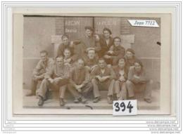 3677 AK/PC/CARTE PHOTO/N°394/GROUPE A.R.C.S.M. REUNIS A IDENTIFIER/ 31/5/38 - Cartoline