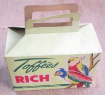 """Boîte En Carton """"Toffées """"Rich"""" Aug Richard & Cie, Diekirch, Luxembourg - Vieux Papiers"""