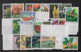 1958 - SERIE FLORE COMPLETE ** MNH - COTE = 87 EUR. - France (ex-colonies & Protectorats)