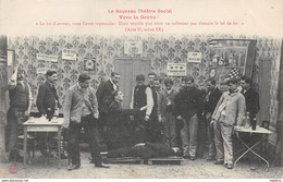 TH-THEATRE SOCIAL-VIVE LA GREVE-N°R2045-B/0139 - Gewerkschaften