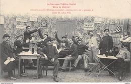 TH-THEATRE SOCIAL-VIVE LA GREVE-N°R2045-B/0167 - Gewerkschaften