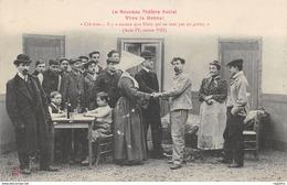 TH-THEATRE SOCIAL-VIVE LA GREVE-N°R2045-B/0213 - Gewerkschaften