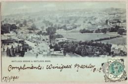 1901 Ansichtskarte Von Matlock Gelaufen Aus Barnsley Nach Napoli - Derbyshire