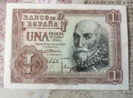 1 Peseta Spanien 22.07.1953 - 1-2 Pesetas