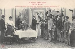 TH-THEATRE SOCIAL-VIVE LA GREVE-N°R2045-B/0369 - Sindicatos