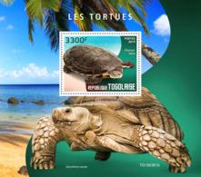 Togo 2019 Turtles Fauna Turtle S/S TG190361 - Sellos