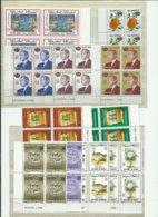 Maroc, Lot De Timbres Modernes Neufs** MNH En Blocs De 4 - Maroc (1956-...)