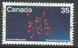 Canada. 1980 Uranium Resources. 35c Used. SG 988 - 1952-.... Reign Of Elizabeth II
