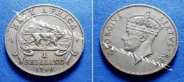 BRITISH  EAST AFRICA  1 Shilling 1948 LION & GEORGE VI - Colonia Britannica
