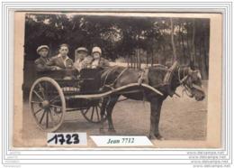 7215 AK/PC/CARTE PHOTO/1723/ATTELAGE/TTB - Cartoline
